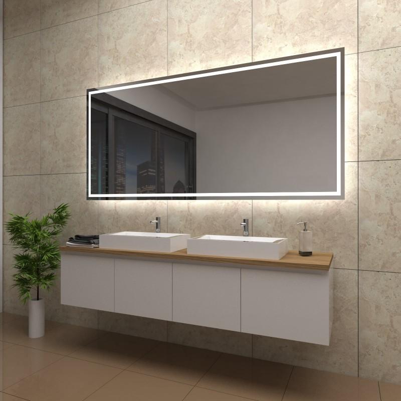 Spiegel Viktoria mit LED Beleuchtung, beschlagfrei