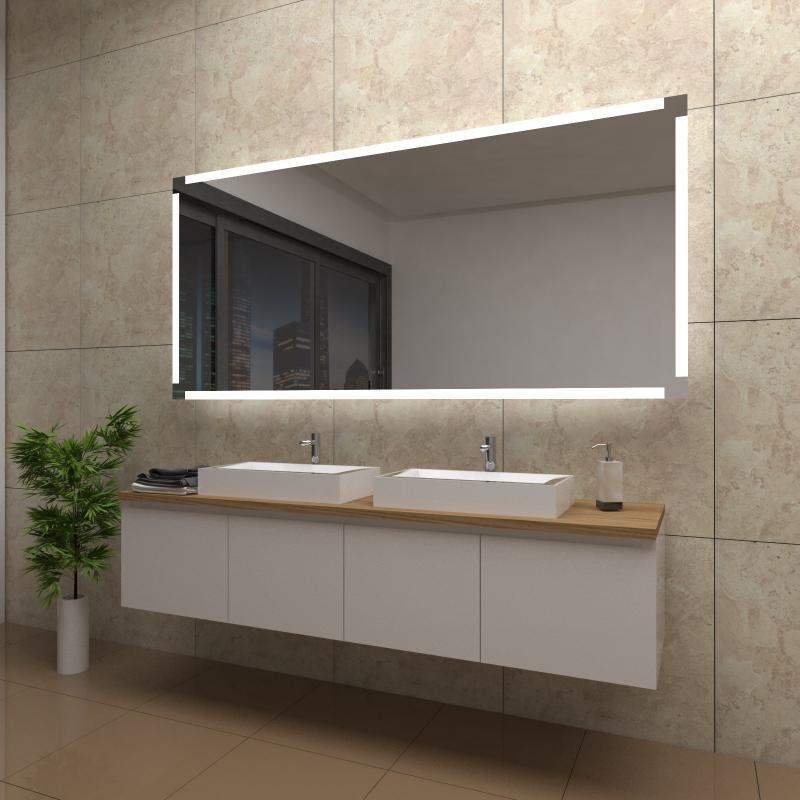 Badezimmerspiegel Mit Beleuchtung Und Uhr